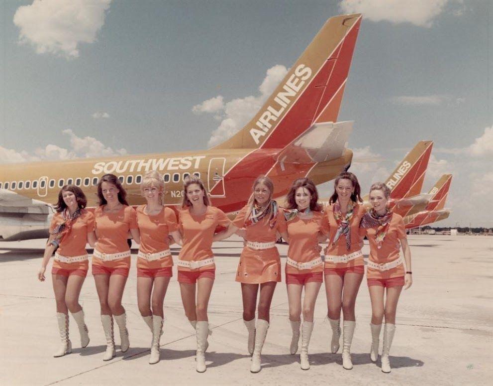 PSA航空会社のユニフォーム
